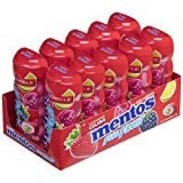Mentos Chicle Frutas Silvestres, Sin Azúcar - 10 unidades de 30 gr/ud