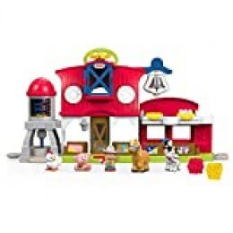 Fisher-Price Little People Granja Cuida a los Animalitos, Juguetes Bebés 1 Año