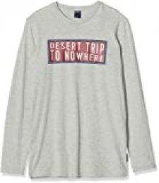 Springfield FR Ml Desrt Trip Camiseta, Gris (Grey 43), Small (Tamaño del Fabricante: S) para Hombre
