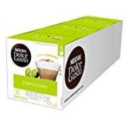 Nescafé Dolce Gusto Cappuccino, Café Gourmand - 90 cápsulas (paquete de 3 cajas XL x 30)