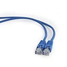 Gembird Patch Cord Cat.5e UTP - 1.5m 1.5m Cat5e U/UTP (UTP) Azul - Cable de Red (1,5 m, Cat5e, U/UTP (UTP), RJ-45, RJ-45, Azul)