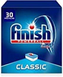 Finish Classic Regular Pastillas para Lavavajillas, 30 Pastillas, Pack de 2
