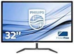 """Philips Monitores 246E7QDAB/00 - Monitor de 31.5"""", Resolución 1920 x 1080 Píxeles, color negro"""