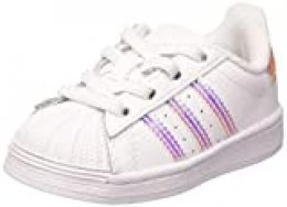 Adidas Superstar EL, Zapatillas de Gimnasio Unisex-Baby, Blanco (Cloud White/Cloud White/Cloud White), 26.5 EU