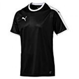 PUMA Liga Jersey Camiseta, Hombre, Negro (Black/White), XL
