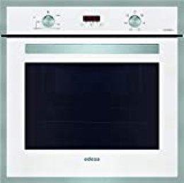 EDESA multifunción Plus | Modelo: EOE-7040 WH | Horno con Capacidad de 70 L | 6 programas de cocinado | Eficiencia energética: A | Cristal: Blanco, 2200 W, 70 litros, Acero Inoxidable