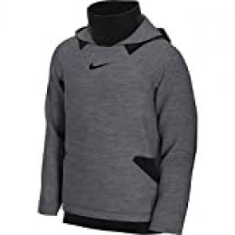 Nike M Nk HD Po FLC NPC Sudadera, Hombre, Charcoal Heathr/Black/(Black), 2XL