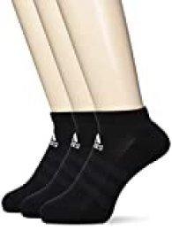 adidas Cush Low 3pp Calcetines, Unisex Adulto, Negro (Black/Black/Black), KL