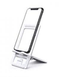 UGREEN Soporte Movil Mesa, Soporte Smartphones Universal Plegable para 4.7-7.9 iPhone XS MAX, XR, 8, Huawei P20 Lite, Mate 20 Lite, Samsung Note 9, S10, Galaxy M20, Xiaomi Redmi Note 9, Mi A2