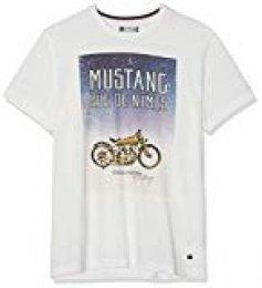 Mustang Photoprint tee Camiseta para Hombre