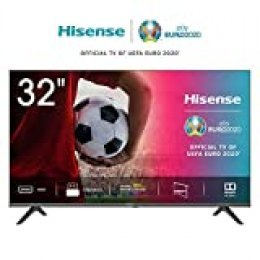 Hisense HD TV 2020 32AE5000F - Feature TV Resolución Full HD, Natural Color Enhancer, Dolby Audio, HDMI, USB, Salida auriculares
