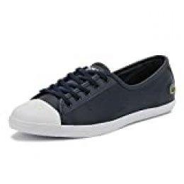 Lacoste Ziane BL 1 CFA, Zapatillas para Mujer, Azul (Navy), 42 EU