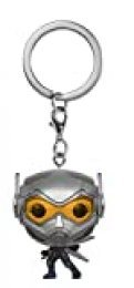 Funko- Pocket Pop Keychain: Marvel: Ant-Man & The Wasp Man y la Avsipa Avispa, Color Plata (30974)