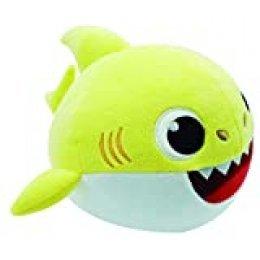 Baby Shark- Peluche Bailón, Multicolor, única (Bandai SS01002)
