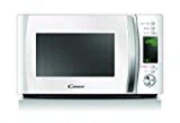 Candy CMXG 20DW Microondas con Grill y Cook In App, 40 Programas Automáticos, 700 W, 20 litros, Blanco, 36 x 44 x 25,8