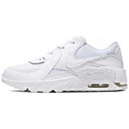 Nike Air MAX Excee (PS), Zapatillas Unisex Niños, Blanco/Negro-Blanco, 32 EU