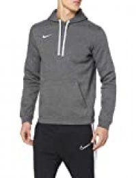 Nike M Hoodie Po FLC TM Club19 - Sudadera con Capucha, Hombre, Gris (Charcoal Heather/Anthracite White 071) XXL