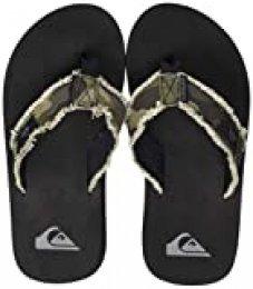 Quiksilver Monkey Abyss Youth, Zapatos de Playa y Piscina para Niños, Marrón (Green/Green/Black Xggk), 31 EU