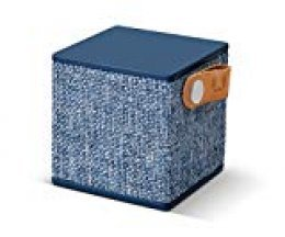 Fresh'N Rebel Rockbox Cube - Altavoz portátil con Bluetooth, color azul