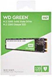 Western Digital WD Verde Internal SSD M.2 SATA, Verde, 120 GB