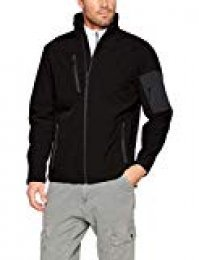 Regatta Arcola Softshell Jacket, Chaqueta para Hombre, Multicoloured (Black/Seal Grey), X-Large (Manufacturer Size:XL)