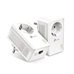 TP-Link [Nuevo] TL-PA7017P Kit AV1000 Gigabit Powerline Starter Kit   Sin WiFi  1 Gigabit Puerto   Super Ahorro de Energía