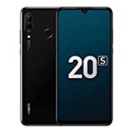 """Honor 20S Smartphones, Teléfono 6GB RAM + 128GB ROM, 6.15"""" Pantalla Completa, 48MP + 8MP + 2MP cámaras triples con Súper Gran Angular, Iluminación de Retratos en 3D, Kirin 710 CPU (Negro Medianoche)"""