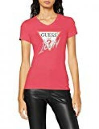 Guess SS Vn Icon tee Camiseta para Mujer