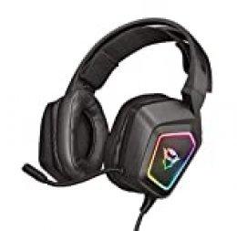 Trust GXT 450 Blizz Auriculares para Gaming RGB 7.1 con Sonido Virtual Envolvente
