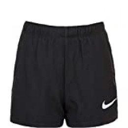 NIKE G Nk Dry 2in1 Short Pantalones Cortos de Deporte, Niñas, Black/Lavender Mist/(Lavender Mist), S