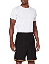 PUMA Om Shorts Replica Without Inner Slip Pantalones Cortos, Hombre, Black-Orange Popsicle, XXL