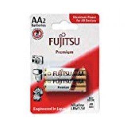 Fujitsu FB82280 - Pack de 2 baterías alcalinas Premium (LR6 FP, tamaño AA)