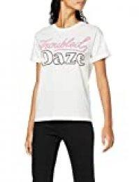 find. 18AMA004 camisetas, Blanco (White), 44 (Talla del Fabricante: X-Large)