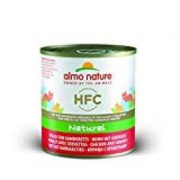 Almo Naturaleza HFC Natural – Pollo y camarones (Pack de 12 x 280 g de Lata)