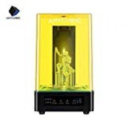 ANYCUBIC Wash & Cure Maquina Lavado y Curado UV LED Curado y con función de Lavado Apto para Impresora LCD/DLP 3D de 405nm / 356nm