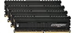 Ballistix Elite BLE4C8G4D34AEEAK - Memoria RAM de 32 GB Kit (8 GB x 4) (DDR4, 3466 MT/s, PC4-27700, SR x 8, DIMM, 288-Pin)