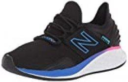 New Balance Fresh Foam Roav, Zapatillas de Running para Mujer, Negro (Black Black), 44 EU