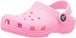Crocs Classic Clog K, Zuecos Unisex Niños, Rosa (Pink Lemonade), 19/20 EU