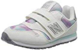 New Balance 373v2 n, Zapatillas para Mujer, Blanco (White/Purple Gw), 40 EU