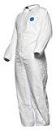 Dupont tyvccf5swh2X 010000Industry Modelo ccf5Traje con cuello, Tyvek, tamaño de XX LARGE, color blanco (25unidades)