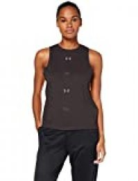 Under Armour Graphic Muscle SL 6M Tanque, Mujer, Gris, XS