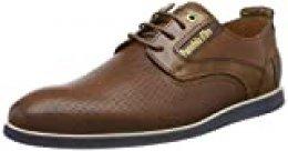 Pantofola d'Oro Urbino Uomo Low, Zapatos de Cordones Derby para Hombre, Marrón (Tortoise Shell.Jcu), 40 EU