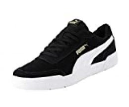PUMA CARACAL SD, Zapatillas para Hombre, Negro Black White Team Gold, 38 EU