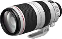 Canon EF 100-400mm f/4.5-5.6L IS II USM - Objetivo para Canon (Distancia Focal 100-400mm, Apertura f/4.5-5.6L IS II USM), Negro y Blanco