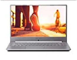 "MEDION Ultrafino P6645 - MD61342 - Ordenador portátil de 15.6"" FHD (Intel Core i7-8565U, 8 GB RAM, 1 TB HDD, 128 GB SSD, Nvidia MX150, Windows 10 Home) color gris - Teclado QWERTY Español"