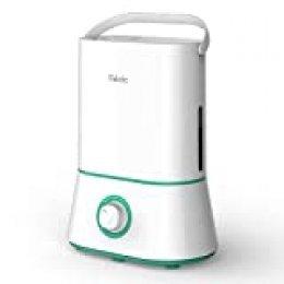 iTeknic Humidifiacador Ultrasónico Depositivo de Agua de Gran Capacidad para Dormitorio Bebés, Hogar y Oficina