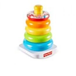 Fisher-Price - Pirámide Balanceante, Juguete para Bebé +6 Meses (Mattel FHC92)