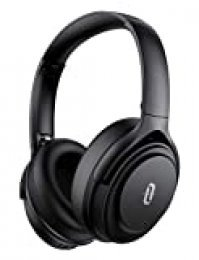 TaoTronics Cascos Inalambricos Bluetooth 5.0 con ANC, 40 Horas de Reproducción y Auriculares con Cancelación de Ruido Activa, Codex aptX, Sonido Hi-Fi, Micrófono CVC 8.0, Carga Rápido de Tipo C