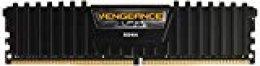 Corsair Vengeance LPX - Módulo de Memoria XMP 2.0 de Alto Rendimiento de 32 GB (2 x 16 GB, DDR4, 3000 MHz, C16), Color Negro