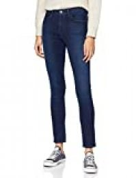 Wrangler HIGH RISE SKINNY Jeans, Azul (Subtle Blue 86N), 27W / 32L para Mujer